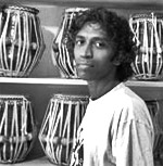 prabhu edouard is a tabla virtuoso